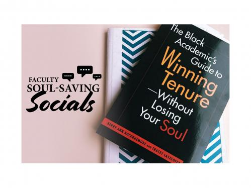 faculty social saving socials and book cover