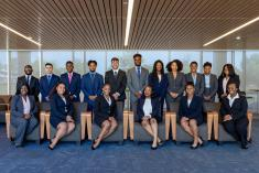 Group photo of 2018 McNair scholars cohort