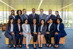 Group photo of 2019 McNair scholars cohort